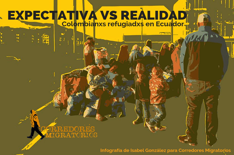 Colombianxs refugiadxs en Ecuador